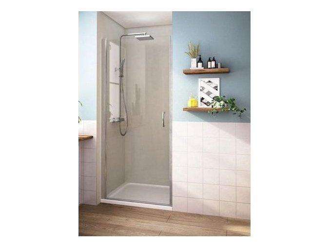 ROSS ALORE 80x190cm - jednokřídlé sprchové dveře 76-81cm | czkoupelna.cz