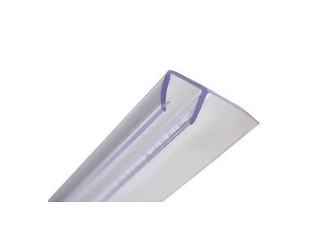 Stírací lišta silikonová boční 193cm, na sprchové dveře 5 mm - sada 2 ks | koupelnyross.cz