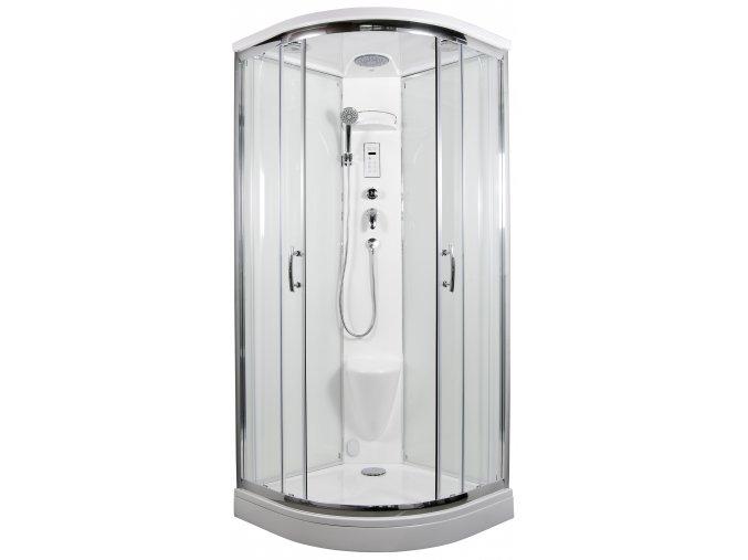 ARTTEC - BRILIANT parní sprchový box se sedátkem | koupelnyross.cz