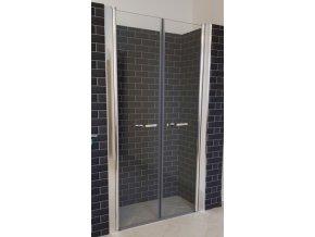 Premium 116-121 cm čiré sklo 6 mm - Sprchové dveře do niky | koupelnyross.cz