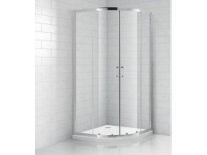Čtvrtkruhový sprchový kout ROSS SMC 90 | koupelnyross.cz