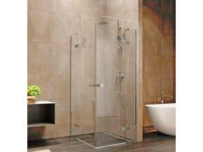 Nova sprchový kout čtvercový 80x80x200 cm, čiré sklo 6 mm | koupelnyross.cz