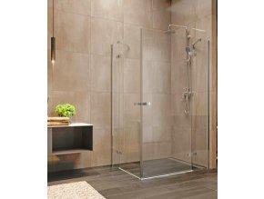Nova sprchový kout obdélníkový 90x80x200 cm, čiré sklo 6 mm | koupelnyross.cz