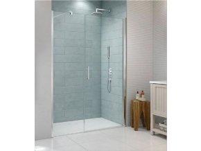 ROSS Lordy 110x190 cm -  jednokřídlé sprchové dveře 106-111 cm | koupelnyross.cz