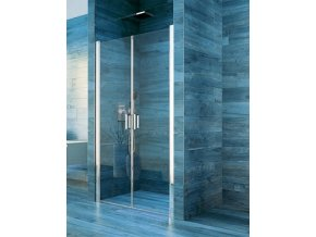 Sprchové dvoukřídlé dveře COOL 80 cm | koupelnyross.cz
