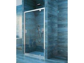 Sprchové jednokřídlé dveře COOL 80x190 cm | koupelnyross.cz
