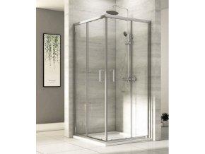 Čtvercový sprchový kout ROSS Comfort 80   koupelnyross.cz