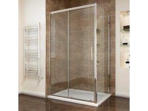 Comfort KOMBI - obdélníkový sprchový kout 15x80 cm | koupelnyross.cz