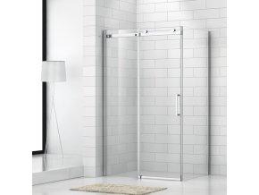 Obdélníkový sprchový kout ROLER 1200x800 mm, posuvné dveře | koupelnyross.cz