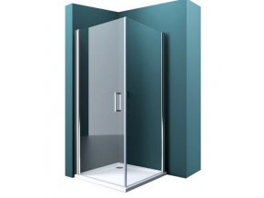 Atlanta 90x90 - čtvercový sprchový kout s vaničkou z litého mramoru | koupelnyross.cz