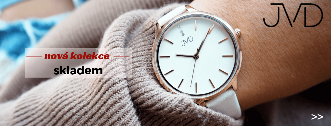 Nové hodinky JVD
