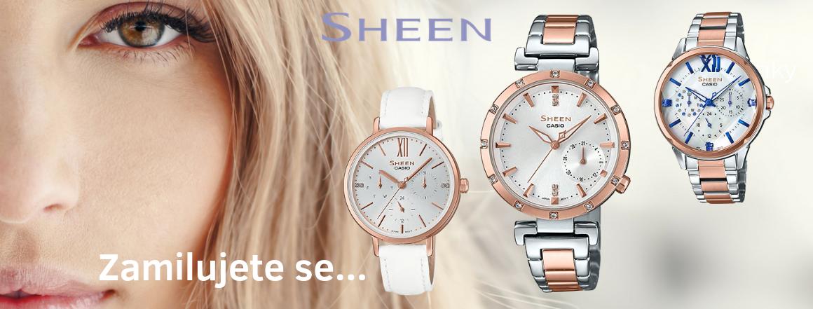 Dámské hodinky CASIO SHEEN