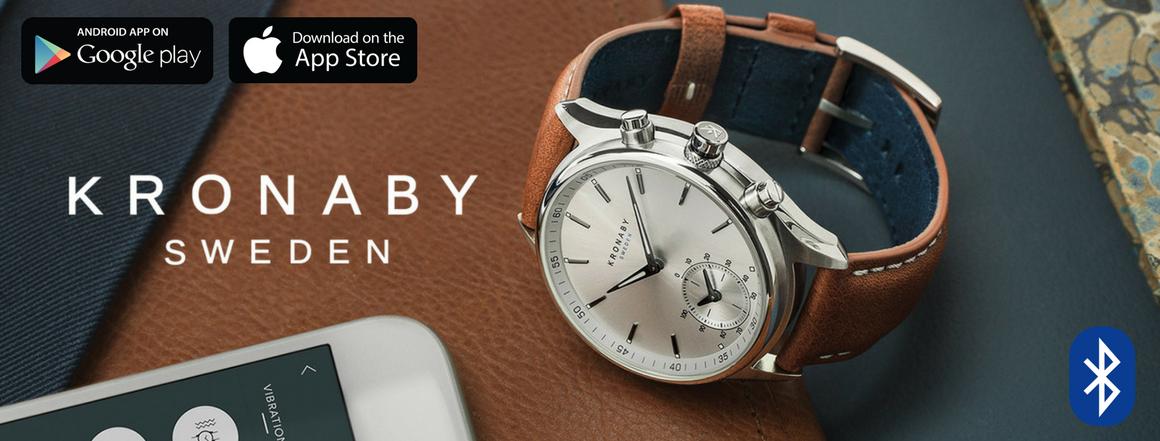 Chytré hodinky KRONABY Sweden