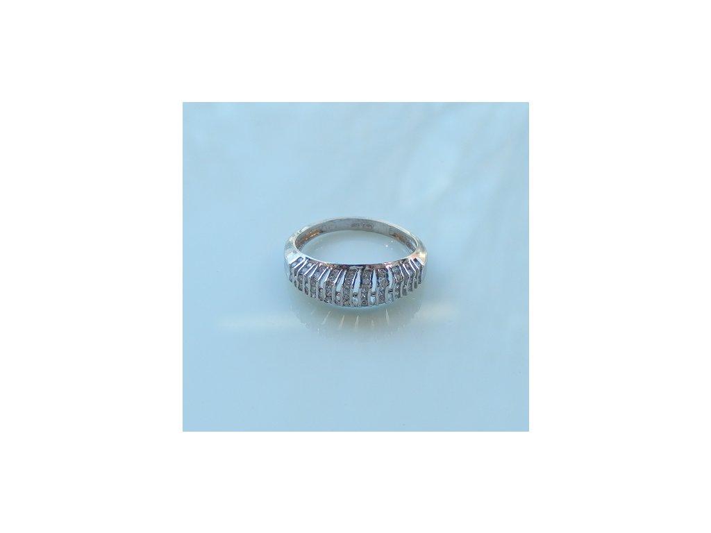 Prsteny z bílého zlata