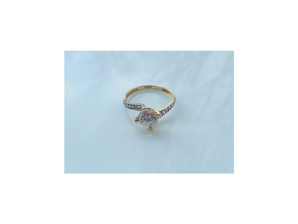 Prsteny ze žlutého zlata