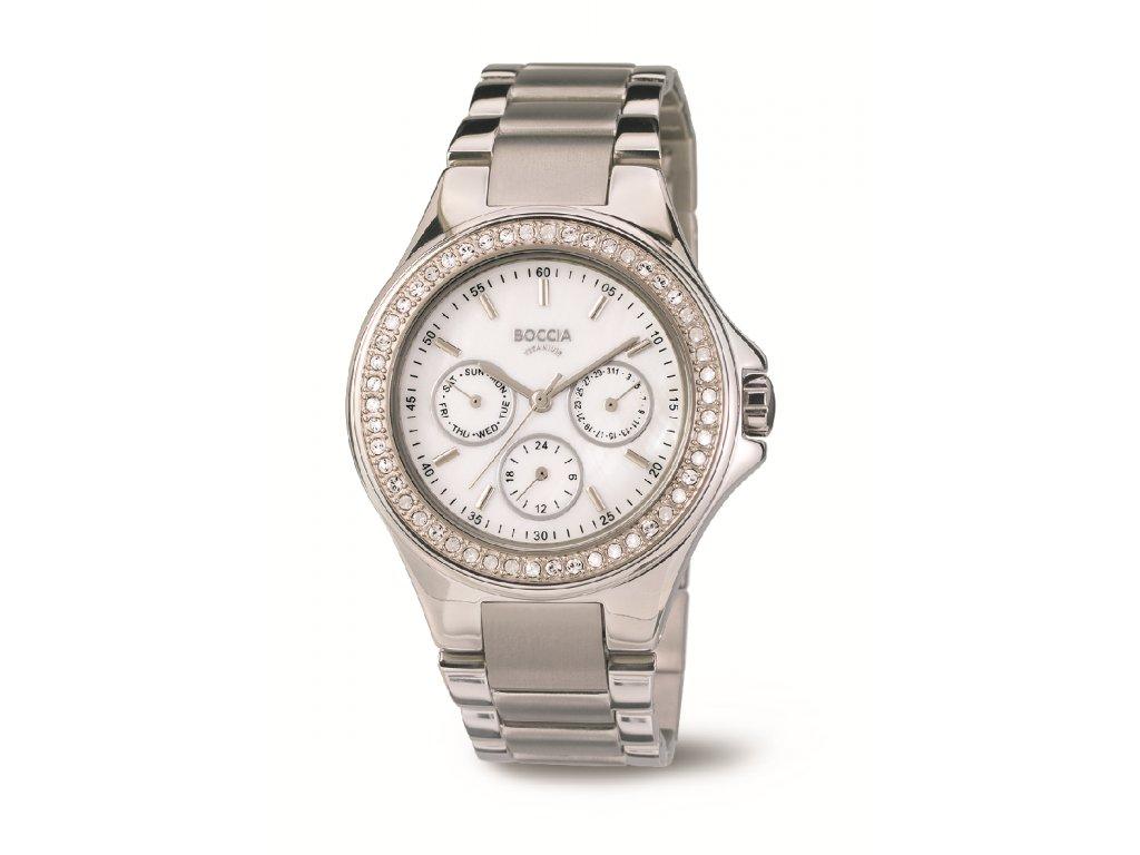 Dámské multifunkční hodinky BOCCIA TITANIUM
