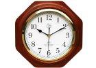 Rádiem řízené nástěnné hodiny JVD