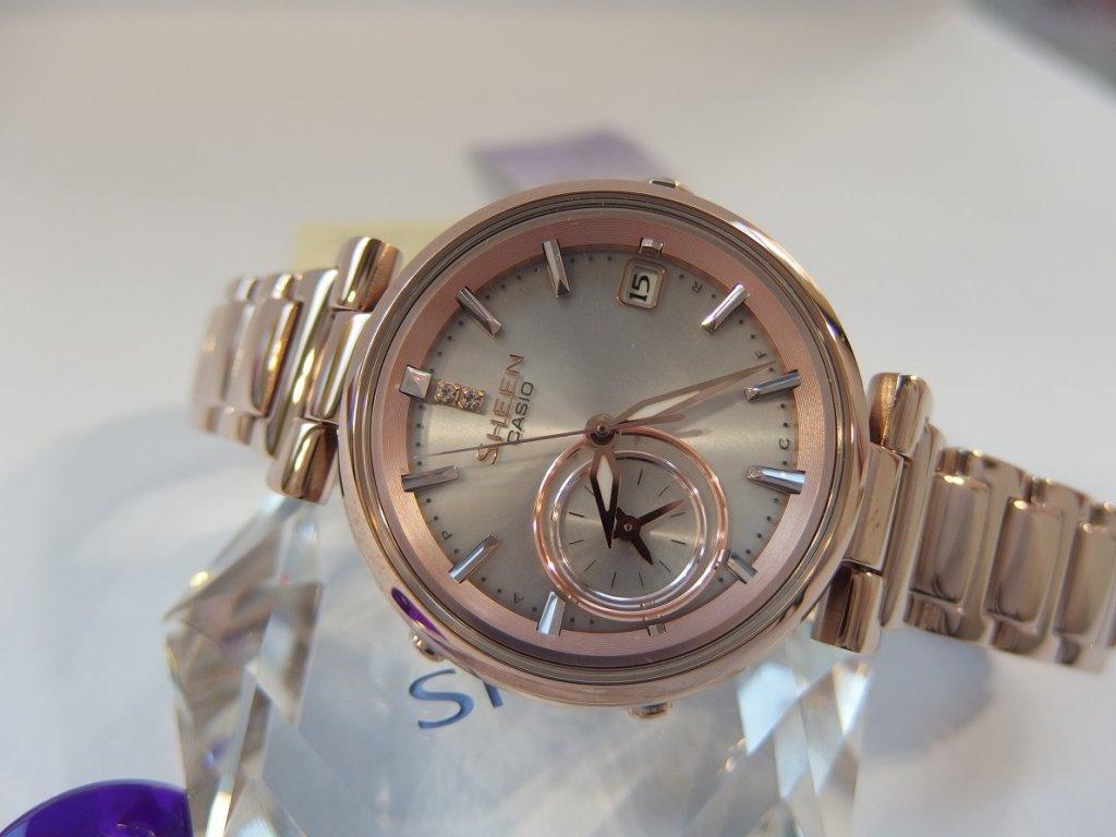6ce59fc9cf ... CASIO SHEEN SHB 100CG-4A + hodinky Baby-G v hodnotě 4490