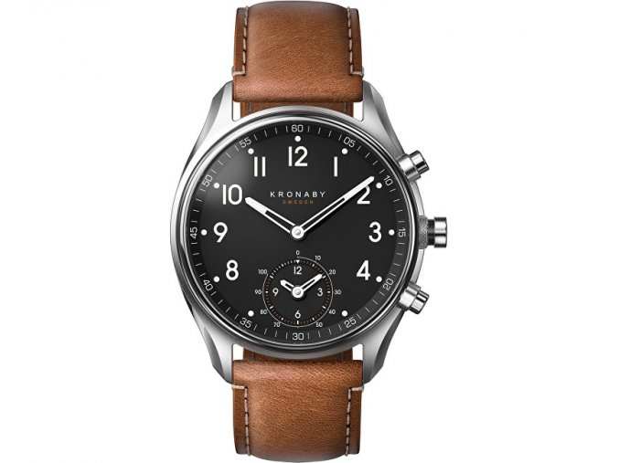 kronaby vodotesne connected watch apex a1000 0729 14406453