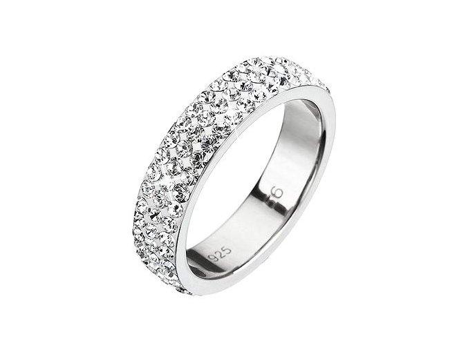 Prsten se Swarovski Elements 35001.1