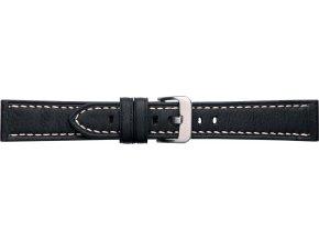 Černý kožený řemínek Condor 628R.01