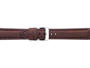 Hnědý kožený řemínek Condor 665R.02