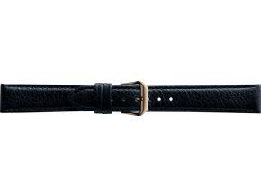 Černý kožený prodloužený řemínek Condor 054L.01