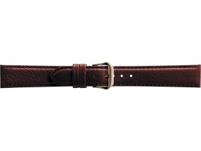 Hnědý kožený prodloužený řemínek Condor 054L.02