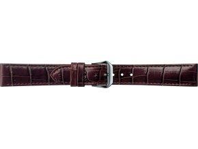 Hnědý kožený řemínek Condor 087R.02
