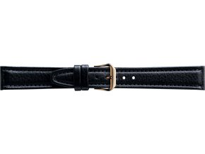 Černý kožený řemínek Condor 062R.01