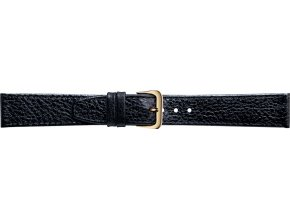 Černý kožený prodloužený řemínek Condor 086L.01