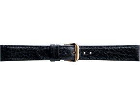 Černý kožený prodloužený řemínek Condor 051L.01