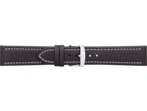Černý kožený prodloužený řemínek Condor 307L.01