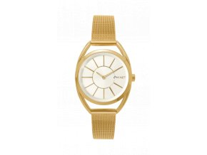 MINET ICON GOLDEN WHITE MESH