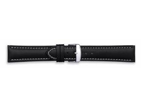 Černý kožený řemínek Condor 336R.01