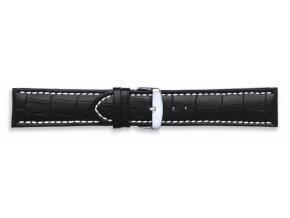 Černý kožený řemínek Condor 337R.01