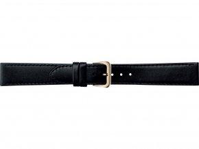 Černý kožený prodloužený řemínek Condor 123L.01