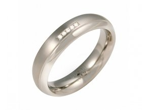 boccia titanium titanovy snubni prsten s diamanty 0130 09 14386631