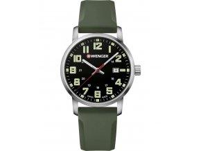 wenger avenue quartz watch silver 01 1641 112 30