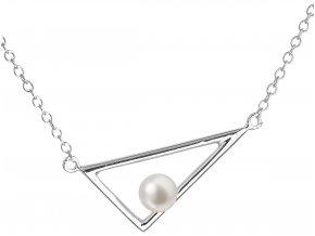 Stříbrný perlový náhrdelník 22020.1