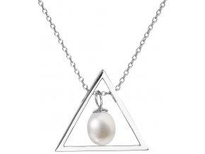 Stříbrný perlový náhrdelník 22024.1
