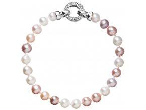 Stříbrný perlový náramek 23004.1