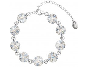 NÁRAMEK SE SWAROVSKI ELEMENTS 33048.3 LIGHT SAPPHIRE