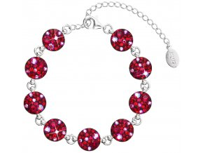 NÁRAMEK SE SWAROVSKI ELEMENTS 33048.3 CHERRY