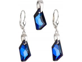 SOUPRAVA SE SWAROVSKI ELEMENTS 39039.5 BERMUDA BLUE
