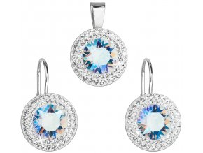 Souprava se Swarovski ELEMENTS 39107.3 	light sapphire shimmer
