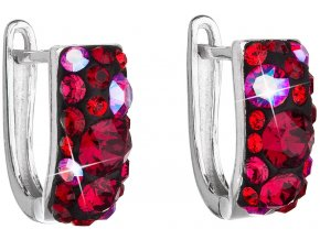 NÁUŠNICE SE SWAROVSKI ELEMENTS 31123.3 CHERRY