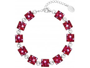 NÁRAMEK SE SWAROVSKI ELEMENTS 33047.3 CHERRY