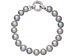 Stříbrný perlový náramek 23010.3
