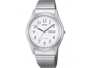 lorus classic white dial chrome expander bracelet gents watch rxn53ax9 p3885 4509 medium
